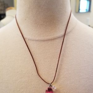 Swarovski Pink Heart